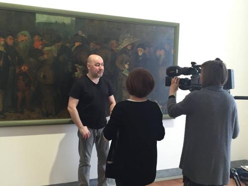 caméra,france 3 rhône alpes,frédérick houdaer,musée des beaux arts de lyon