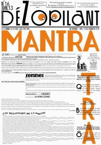 dezopilant n°16,revue,publication,mantra